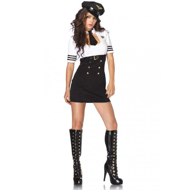 Sexy kapiteins jurkje voor dames