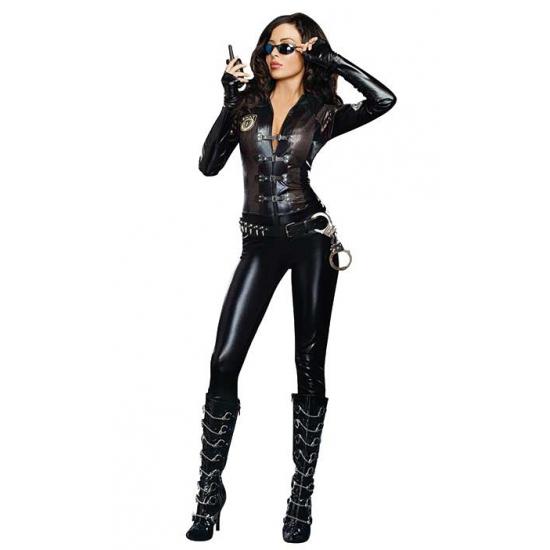 Sexy politie jumpsuit