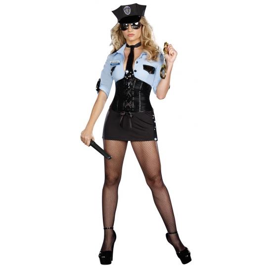Sexy politie verkleedkleding