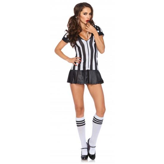 Sexy scheidsrechter kostuum dames