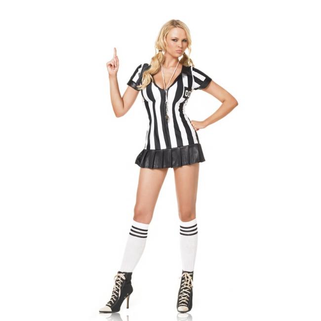 Sexy scheidsrechter kostuum voor dames