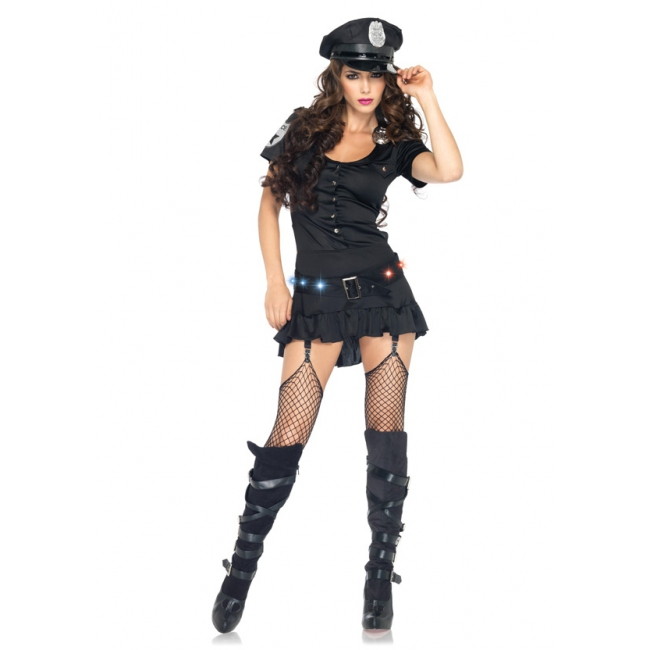 Sexy sergeant kostuum voor dames