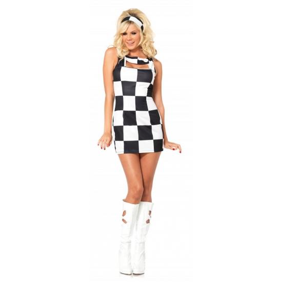 Sexy Trippy Trixie geblokt jurkje
