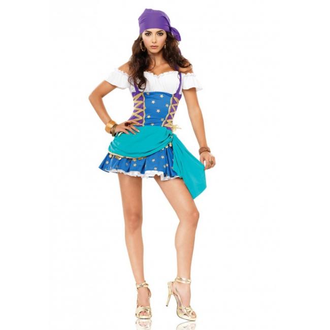 Sexy zigeunerinnen jurkje