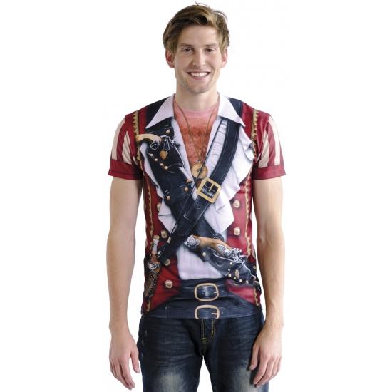 Shirt met piraat print