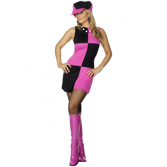 Sixties verkleed kleding dames