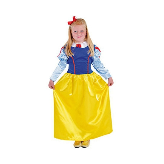 Sneeuwwitje jurk voor meisjes met lange mouwen