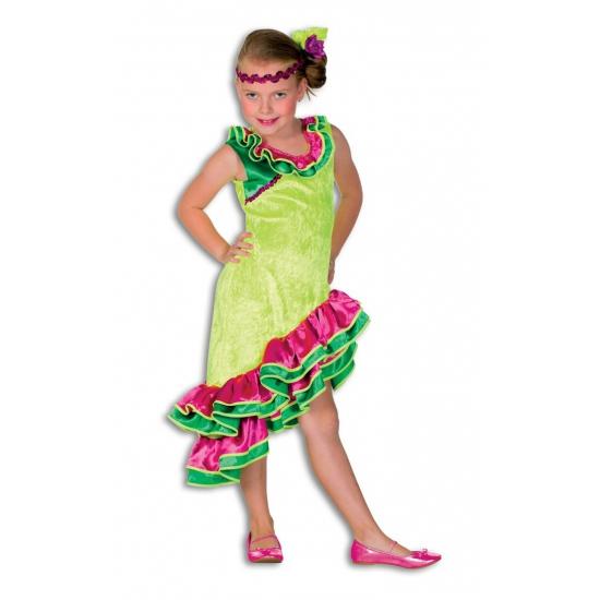 Spaans meisje verkleed kleding