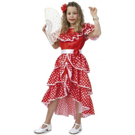 Spaanse carnavals jurk voor meisjes