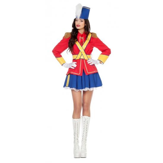 Speelgoed soldaatje dames kostuum