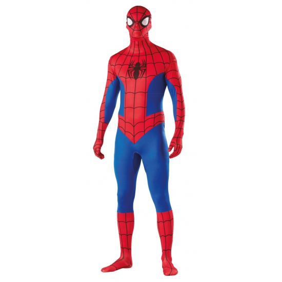 Spiderman second skin verkleed pak