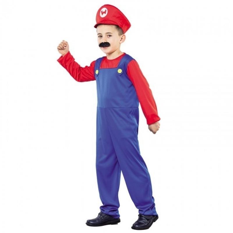 Super Loodgieter verkleedkleding voor kinderen