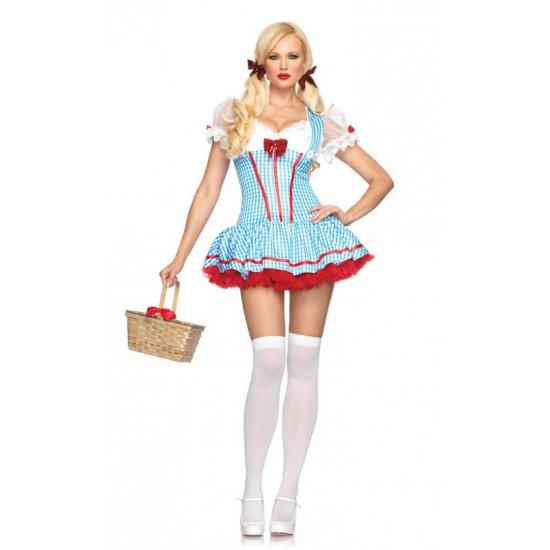 Tiroler Dorothy jurkje lichtblauw