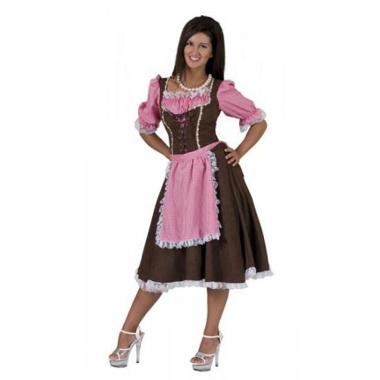 Tiroler jurken Rosa
