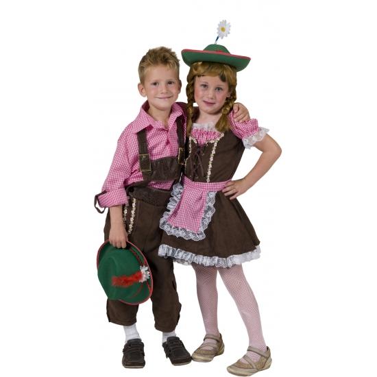 Tiroler shirt voor kinderen
