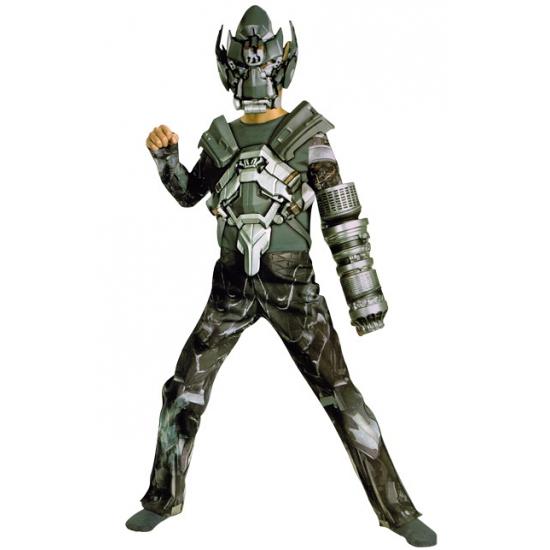 Transformer Ironhide jumpsuit voor jongens