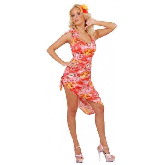 Tropisch zomerjurkje Hawaii dames