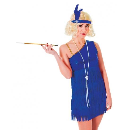 Twenties jurkje blauw