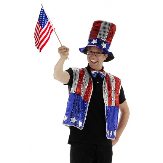 USA carnavalskleding