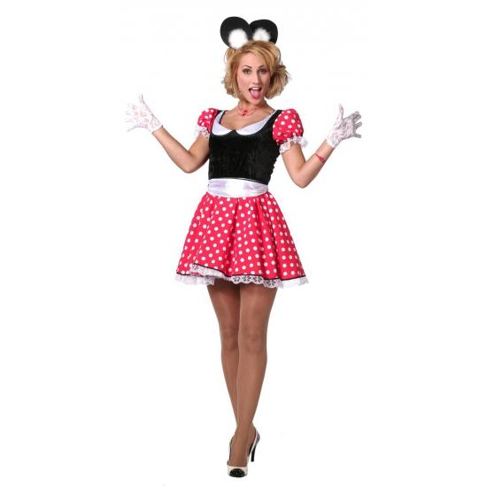 Verkleed jurkje Minnie