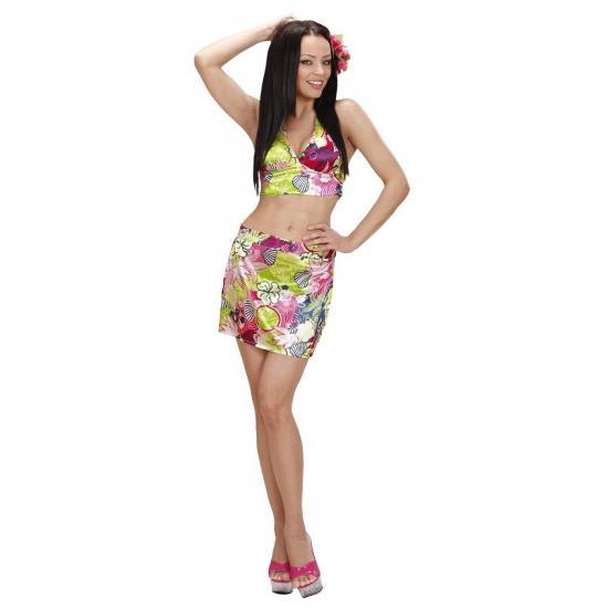 Verkleedkleding Hawaii outfit dames