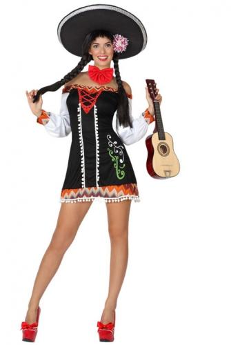 Verkleedkleding mexicaans voor dames