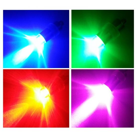 Verlichting multikleur voor in een ballon