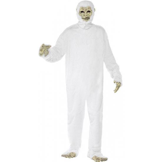 Verschrikkelijke sneeuwman Yeti outfit