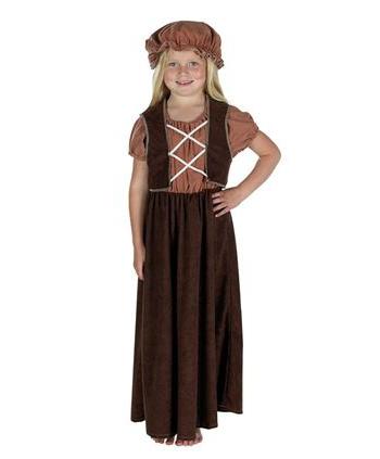 Victoriaans straatkind kostuum