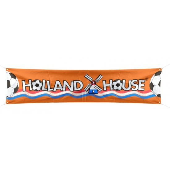 Voetbal Holland spandoek 180 cm