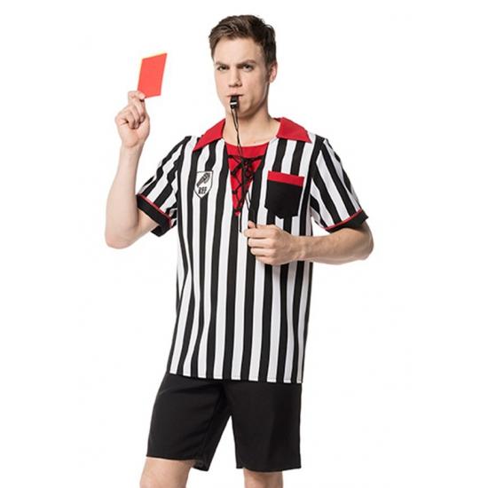 Voetbal outfit scheidsrechter