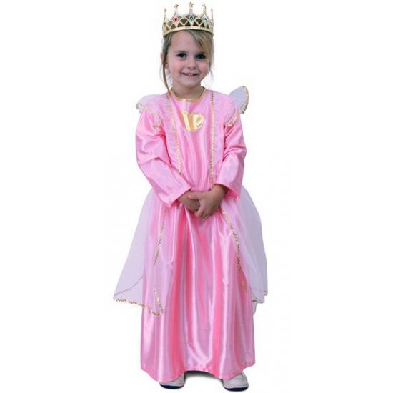 Voordelige roze prinsessen jurk