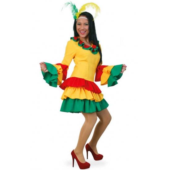 Vrolijke braziliaanse kleding voor dames