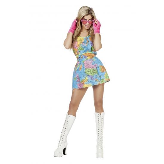 Wereld jurkje voor dames