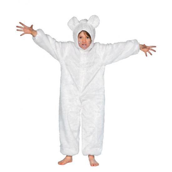 Wit berenpakje voor kinderen