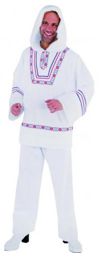 Wit Eskimo pak met borduursel
