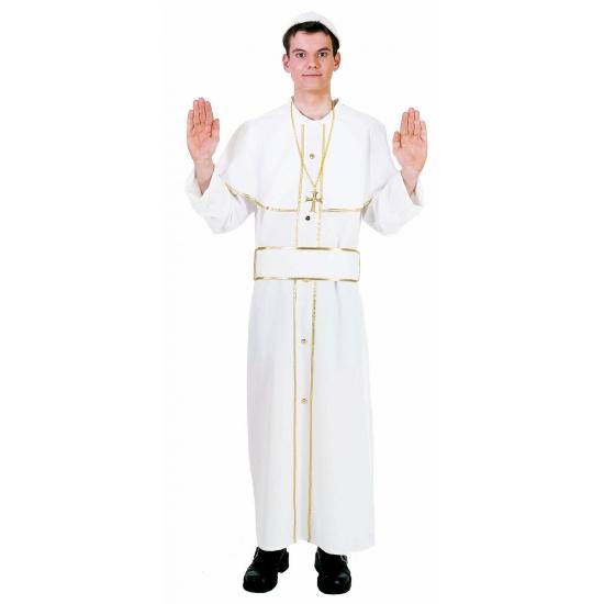 Wit Paus kostuum