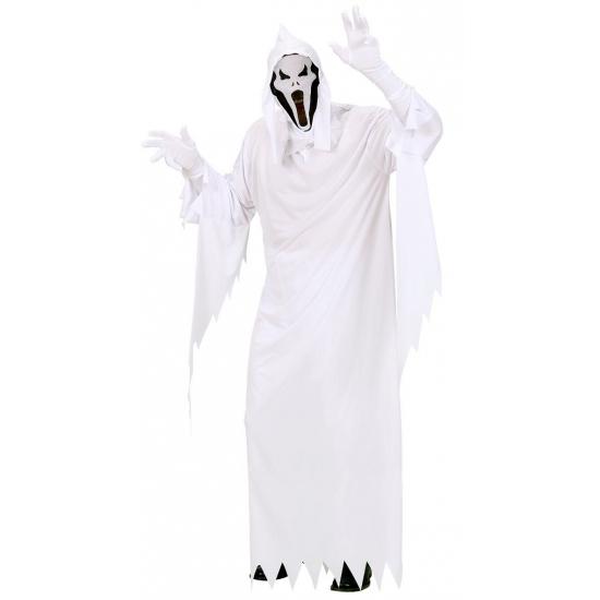 Wit spoken kostuum voor heren