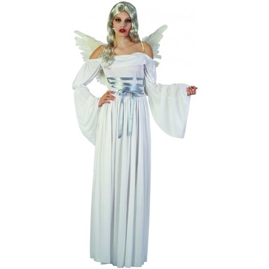 Witte duivel jurken met vleugels