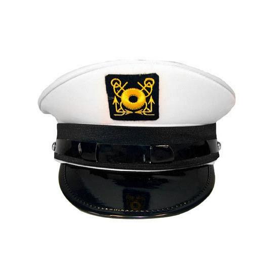 Witte kapiteinspetten