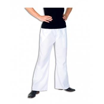 Witte lange broek voor heren