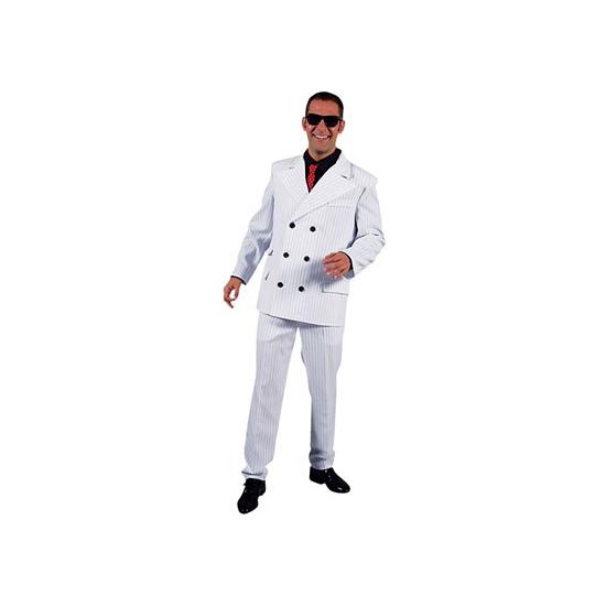 Witte maffia kostuums voor heren