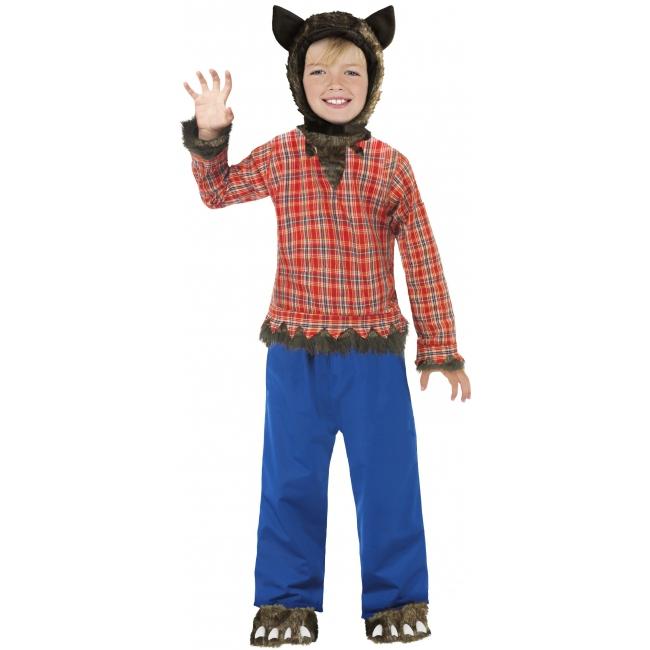Wolfie weerwolven kostuum voor kinderen