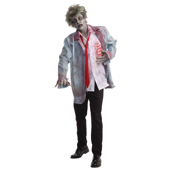 Zombie outfit blouse met jas
