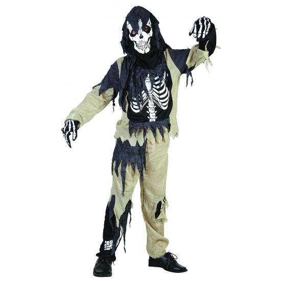 Zombie skeletten pak voor jongens