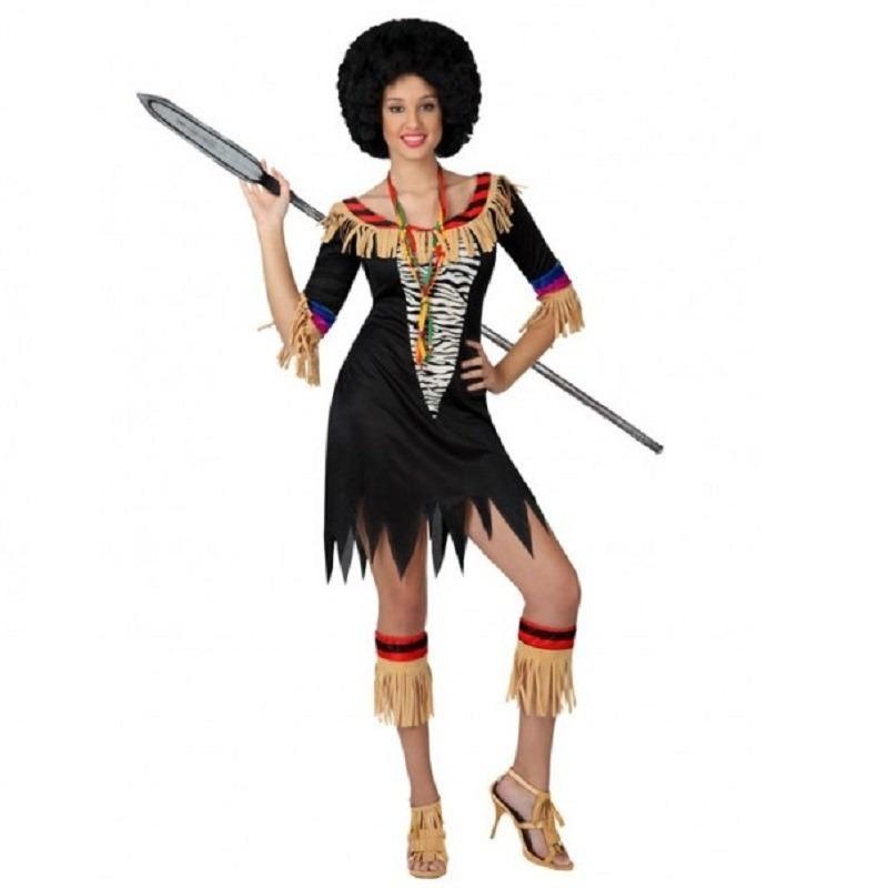 Zulu outfit voor dames