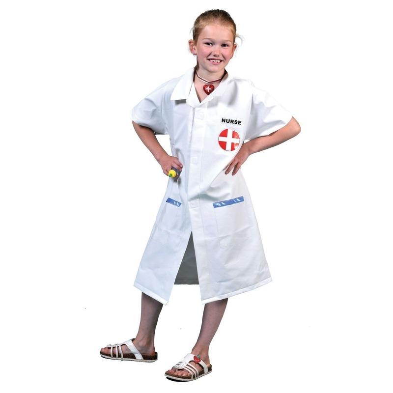 Zuster jas met prik voor kinderen