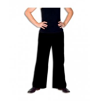 Zwarte lange broek voor heren