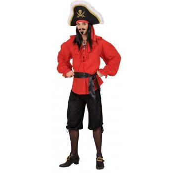 Zwarte piraten broek velours