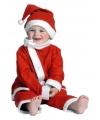 3 delig kerstman peuter kostuum
